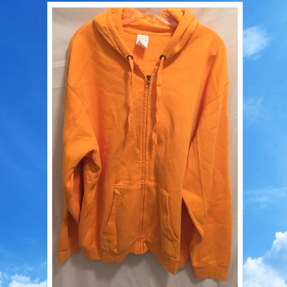 VF Imagewear Other - Size 2X 2XL Unisex Hoodie Yellow Orange